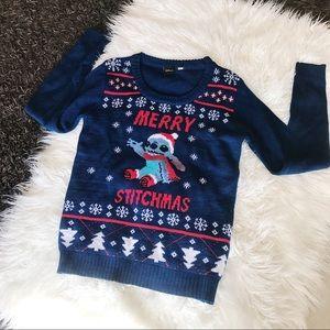 Lilo & Stitch Christmas Sweater Holiday Disney S